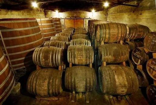 Chai vieillisement du Cognac